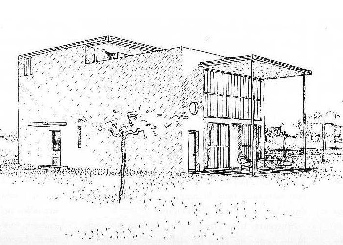 Le corbusier idea y desarrollo de la m quina de habitar - Casas de le corbusier ...