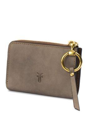 Frye Ilana Harness Small Zip Wallet - Grey - One Size
