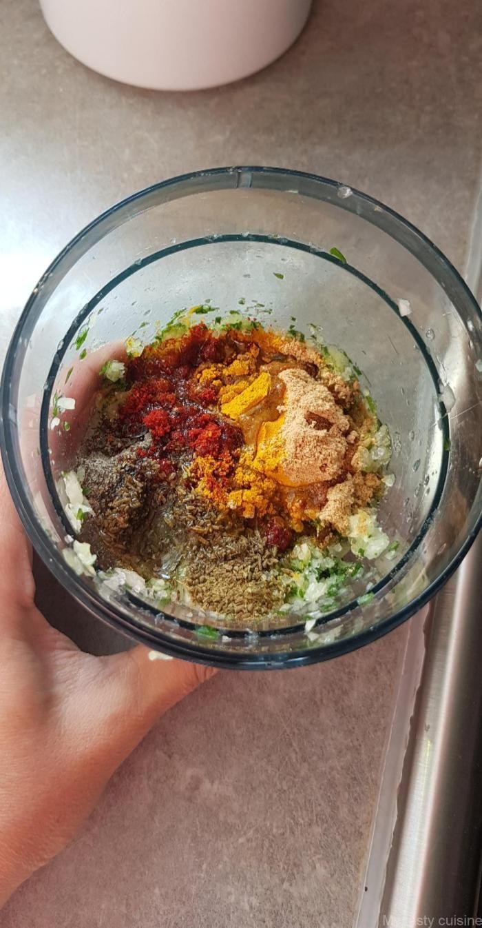 Douez ou marqa aux légumes , My tasty cuisine