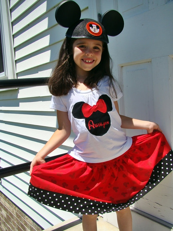 disney outfit - I would love to have these for the girls when we finally  make - 826 Best Disney Clothes Images On Pinterest
