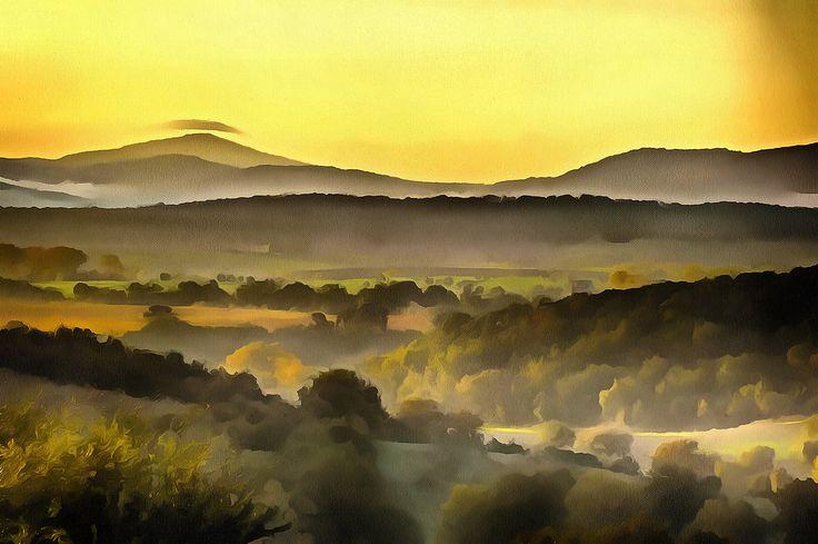 Tuscan Landscape, Magliano, Tuscany