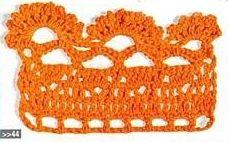 Patrón #1448: Puntilla a Crochet | CTejidas [Crochet y Dos Agujas]