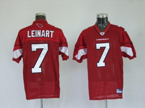 Reebok NFL Jersey Arizona Cardinals Matt Leinart #7 Red $25.00