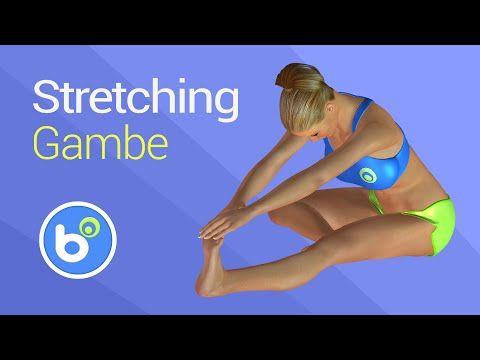 Stretching gambe: esercizi per allungare quadricipite, femorali, polpacci, adduttori ed abduttori - YouTube