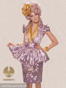 Effie trinket style dresses