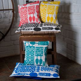 Lovespoon cushions - head over to www.adrahome.com