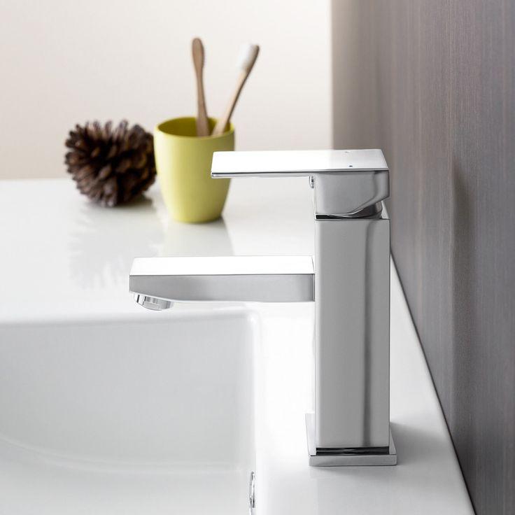 Quatro Solid Basin Mixer  http://www.caroma.com.au/bathrooms/mixer-taps/quatro-solid/quatro-solid-basin-mixer