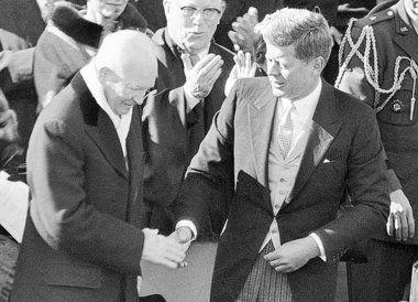 eisenhower and kennedy In february 1955, president eisenhower sent the first american military advisors   during kennedy's presidency, the strategic hamlet program.
