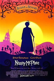 Nanny McPhee is a 2005 fantasy film starring Emma Thompson and Colin Firth. Thompson also wrote the screenplay, which is adapted from Christianna Brand's Nurse Matilda books.