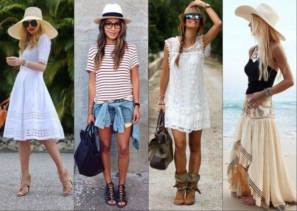 Летние соломенные шляпы