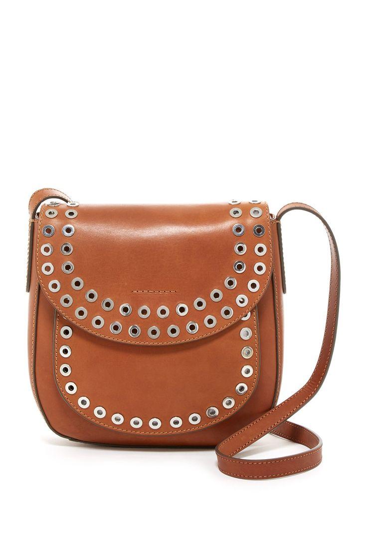Cassidy Studded Leather Crossbody Bag
