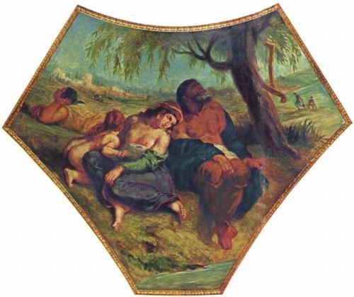 Babylonian Captivity - Eugene Delacroix