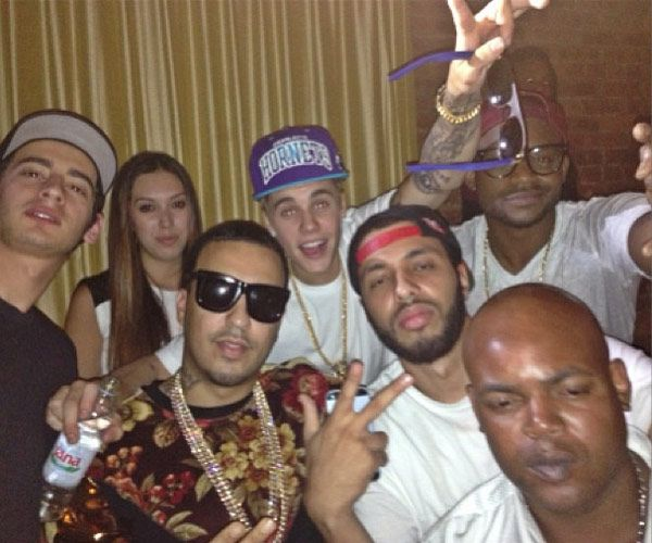 Justin Bieber Parties With Sexy Brunette Until 6 A.M. —Report