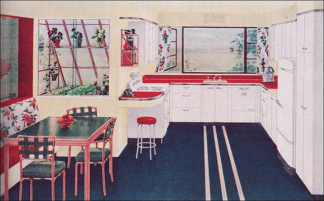 1944 Hotpoint Vintage Kitchen by American Vintage Home, via Flickr