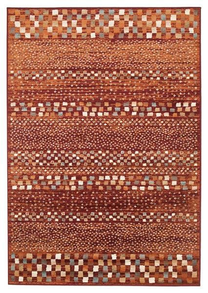 We love the earthy tones of this rug, perfect for adding warmth and style to any room: Caliente 322 Earth Red Rust Multi Coloured Patterned Traditional Rug