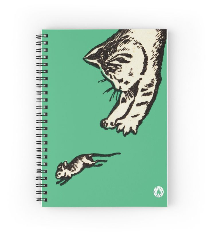 """If you play with cats"" Spiral notebook on Redbubble"