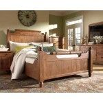 Broyhill Furniture - Attic Heirlooms Eastern King Feather Bed in Natural Oak - 4397-58SEK-Feather  SPECIAL PRICE: $1,000.00