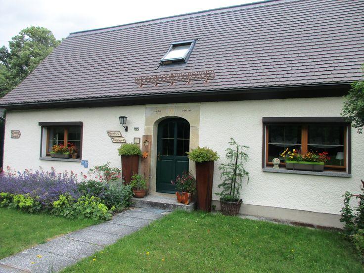 Domek s květináči - Waltersdorf - Německo