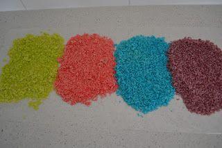 Recipe - Coloured Rice