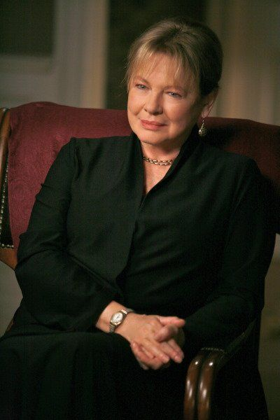 Dianne Wiest as therapist Paul Weston's insightful shrink Gina in 'In Treatment'  My inner anima. She embodies the wise crone for me.  Love her.