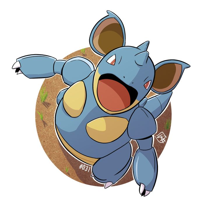 pokemon nidoqueen wiki - 700×700