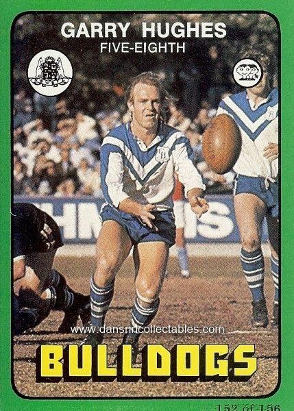 1978 152 Canterbury Bulldogs