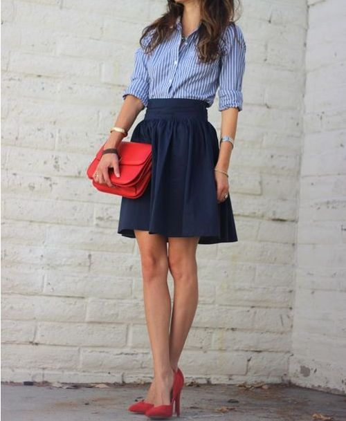 Classic colors #summerfashion #summerstyle