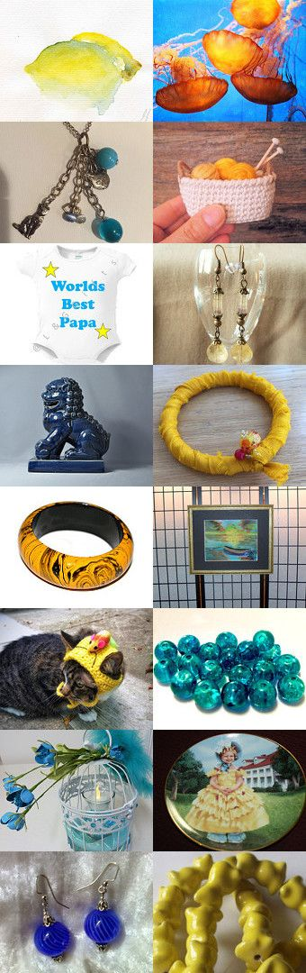 WHEN LIFE GIVES YOU LEMONS.............................Gratitude Treasury by Pat…