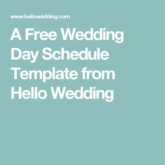 Best 25+ Wedding day timeline template ideas on Pinterest - wedding timeline template