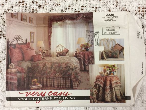 Very Easy Vogue Patterns For Living 2908 Designed By LousAtelier