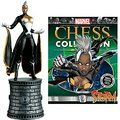 Marvel X-Men Storm White Bishop Chess Piece with Collector Magazine