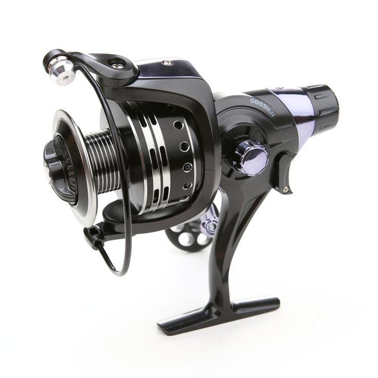 Ultra-thin body design Carretes de pesca lightweight Adjustable Brake Reels Spinning Wheel