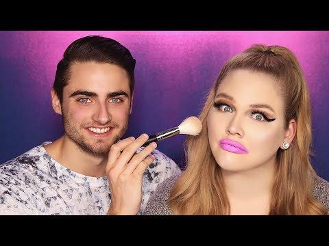 BOYFRIEND DOES MY MAKEUP | NikkieTutorials – Makeup Project