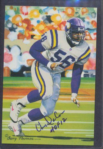 Chris-Doleman-Signed-2012-Goal-Line-Art-Card-Autograph-Auto-PSA-DNA-AC80521