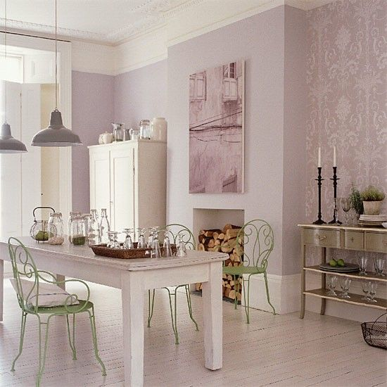 French-style dining area. Can't find the original site I saw this kitchen/dining on.. wish I could as it had a few pics which I saved onto my hard-drive last year..of course I didn't save info on what site. This is one of my absolute all time fall in love with over & over again kitchens.