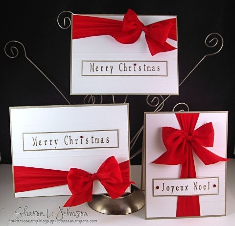 Simple Christmas cards