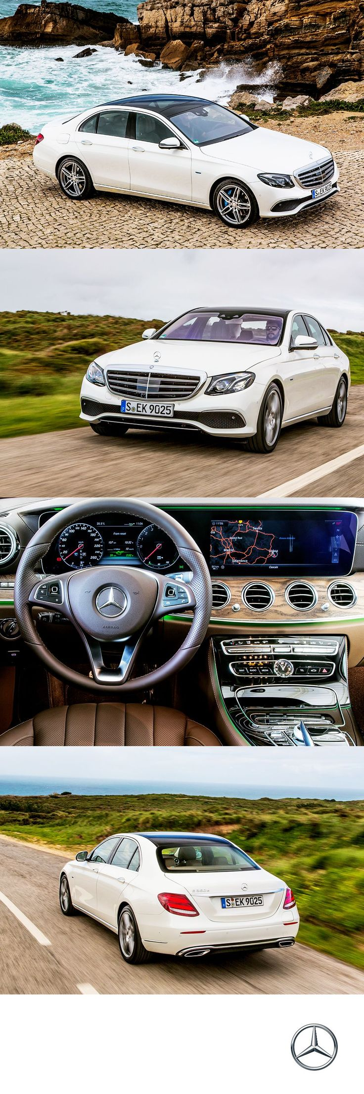 Portugal was the ideal venue for our latest press drive, which saw journalists from around the world converge to test drive the all-new 2017 E350e.