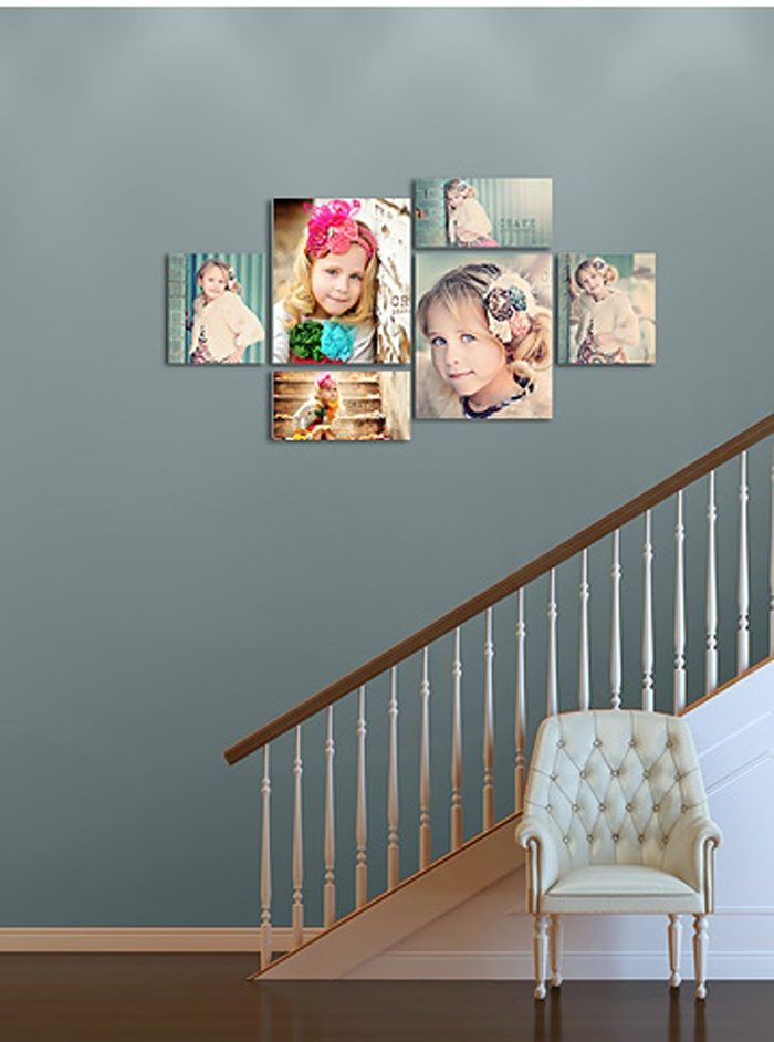 love paint color and it would look great with some of my prints of the girls
