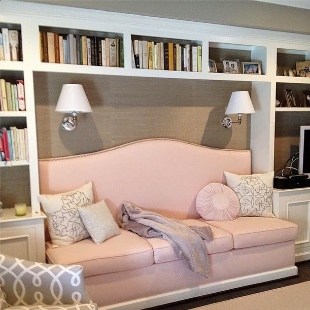 Living Room Built In Storage: Library Of Inspirational Images, Built In