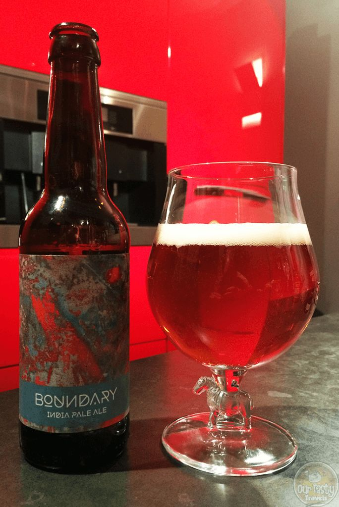 26-Oct-2015: India Pale Ale by Boundary Brewing. This is an excellent IPA! And I'm not just saying that because I own one share of the brewery. citrusy bitterness, but smooth and drinkable. #ottbeerdiary