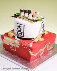 lol ... sushi cake