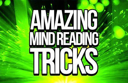 Amazing mind reading tricks!  http://www.mentalismzone.com/  #mindreading #mentalism #magic
