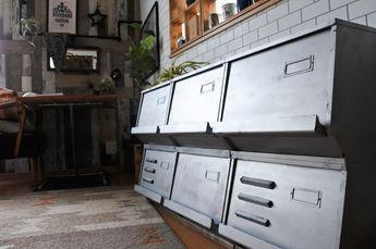木製収納ボックスをスチールロッカーにリメイク☆ LIMIA (リミア)