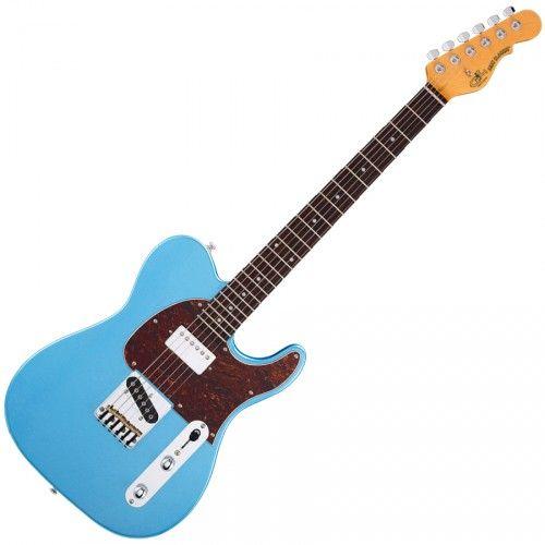G&L TRIBUTE CLASSIC BLUESBOY LAKE PLACID BLUE/PALISSANDRE, Achat Guitare électrique G&L - Vente, Acheter