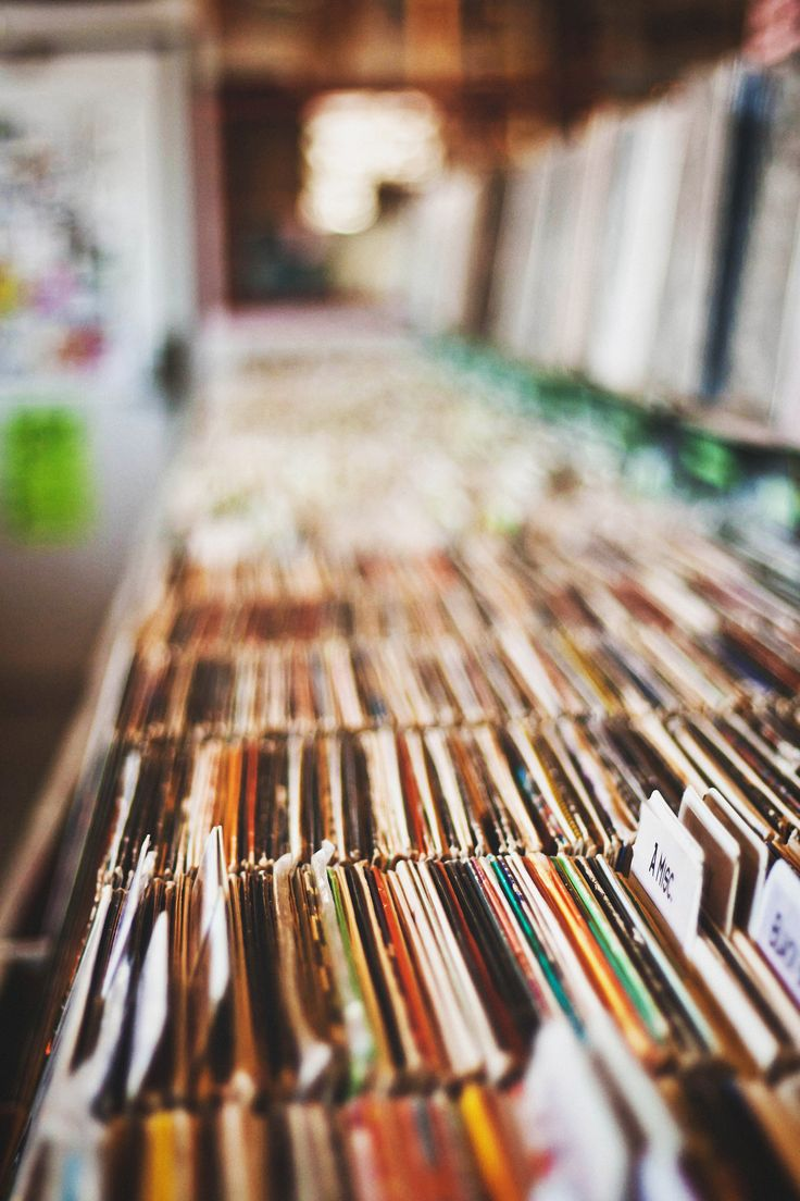 A nice vinyl collection would add nice energy to the days. <3