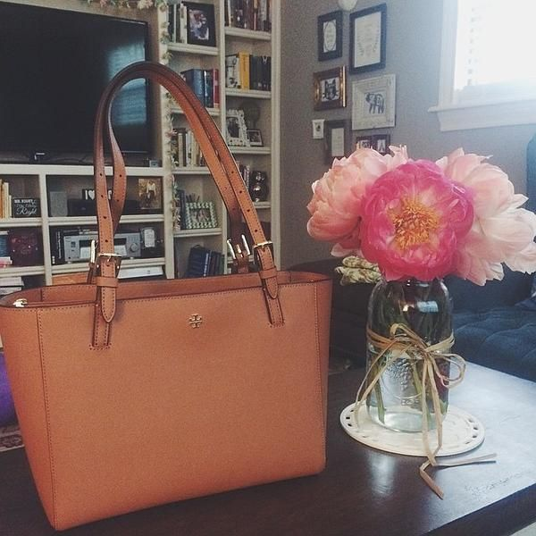 Tory Burch York tote - newest addition to my collection :) perfect for school/rotations