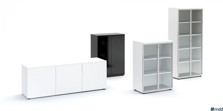 Przechowywanie w biurze ważna rzecz!  #elzap #meble  #furniture #przechowywanie #storage #komoda  #commode  #design #modern #minimalism #minimalizm #goodsolution