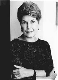 Ruth Rendell (b. 1930), who also writes under the pseudonym Barbara Vine, is an English crime writer, author of psychological thrillers and murder mysteries.