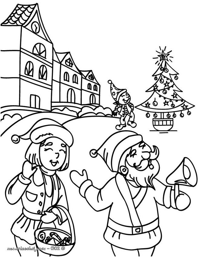 Coloriage Noel Anglais Imprimer.Coloriage Cycle 3 15 Authentique Coloriage Cycle 3 Stock