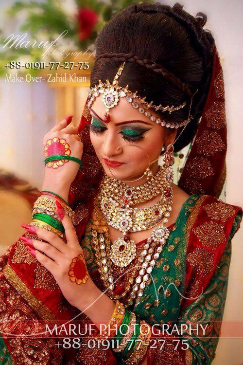 Bangladeshi bride #gorgeous